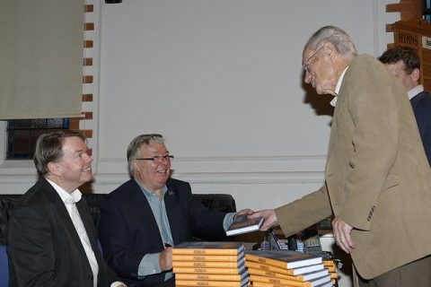 Gerald Coates at a book signing