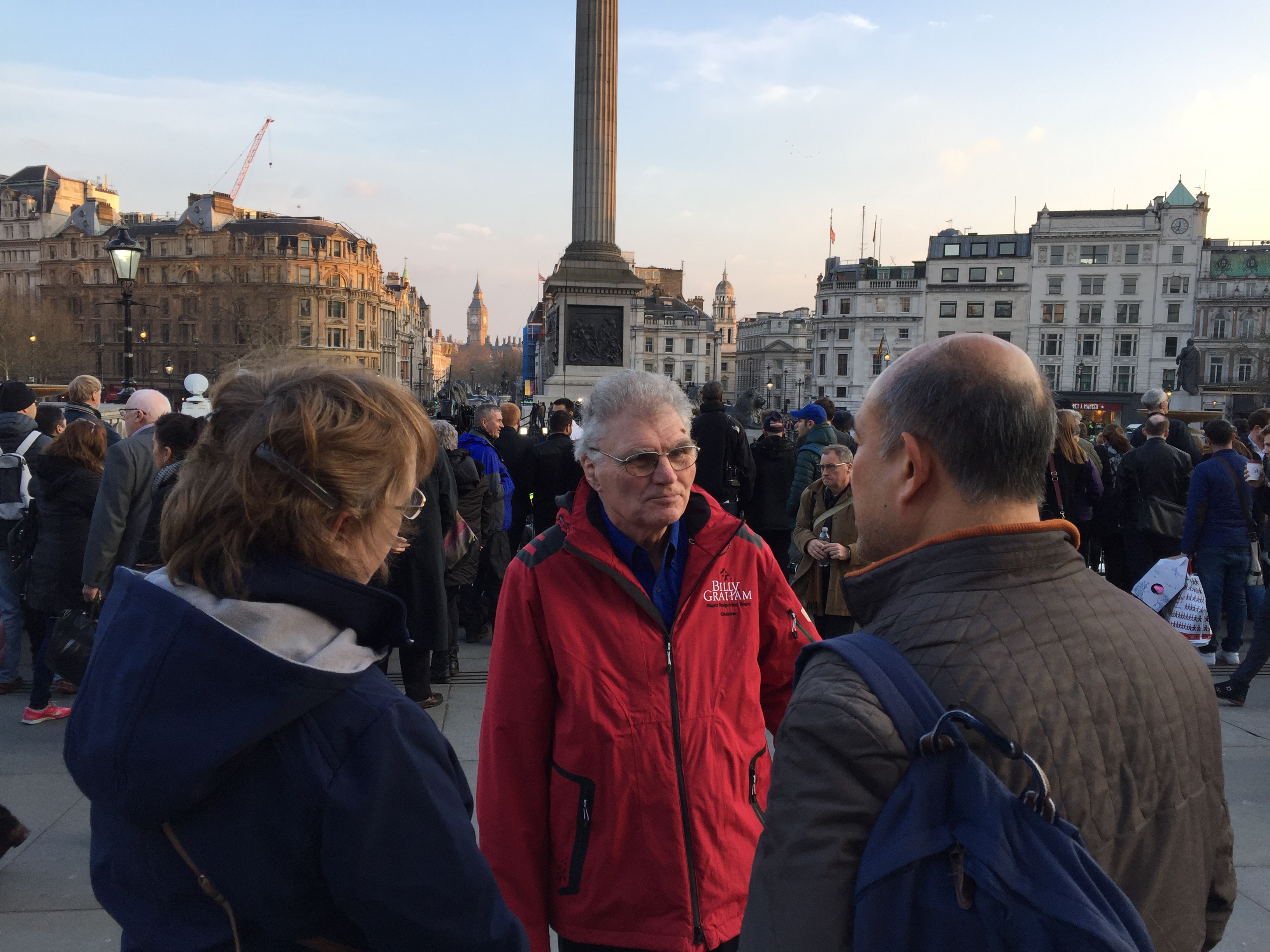 Rapid Response Chaplains engage with a Londoner